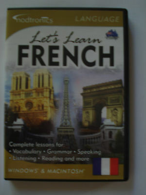 - PC CD-ROM - FRENCH - LET''S LEARN (WIN/MAC) NOW $10.95 (VGC) By EUREKA