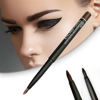 Charm Black Brown Eye Eyeliner Pencil Waterproof Eyebrow Makeup Pen Durable Set