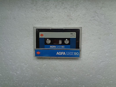Vintage Audio Cassette AGFA LNX 90 From 1982 - Fantastic Condition !!