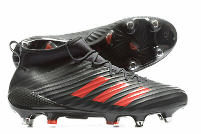 adidas Men Predator Flare SG Soft Ground Rugby Boots Sports Shoes Studs Trainers