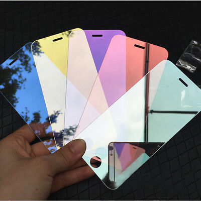 For iPhone 8 Plus Screen Protector 3D Mirror Effect 9H Temper Glass Film Guard