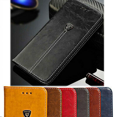 Flip Magnetic Kickstand Card Bag Wallet PU Leather Cover Case For iPhone 8 Plus