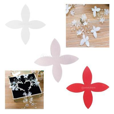 MagiDeal Silk Flower Patches 100 Sewing Wedding Dress Bridal Hair Accessory DIY