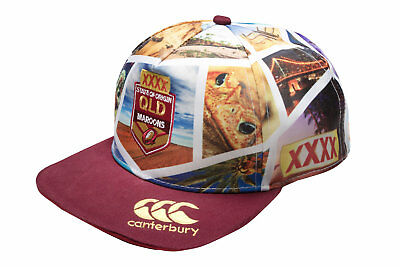 Canterbury Unisex Queensland State of Origin 2017 NRL Supporters Flat Cap