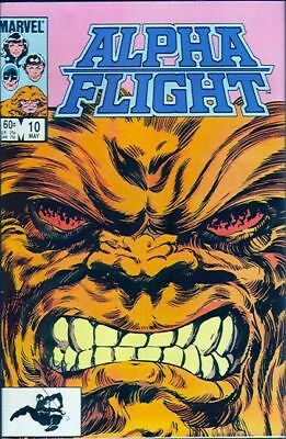 Alpha Flight #10 Vol.1 Vf/nm (X-Men)