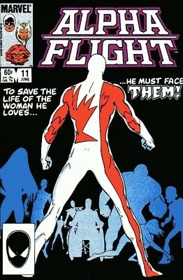 Alpha Flight #11 Vol.1 Vf/nm (X-Men)