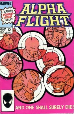 Alpha Flight #12 Vol.1 Vf/nm (X-Men)