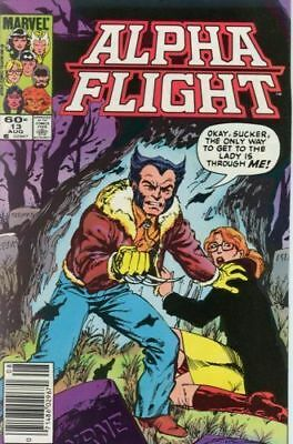 Alpha Flight #13 Vol.1 Vf/nm (X-Men) Wolverine