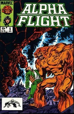 Alpha Flight #9 Vol.1 Vf/nm (X-Men)