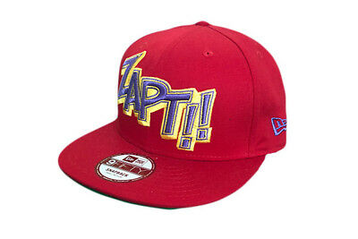 Onomatopia Zapt! New Era Marvel Comics 9Fifty Snapback Baseball cap Size S-M