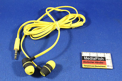NIKE NK-18 Headphones gelb yellow NEU NEW