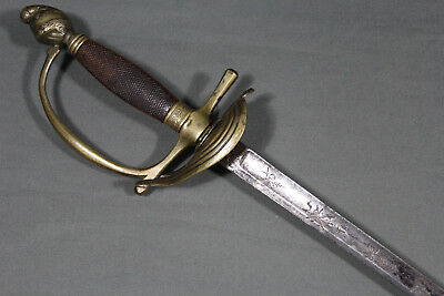French uniform's sword - France, late first Napoleonic empire, early 19th