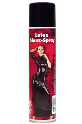 Latex Glanz Spray 400 ml Outfit Plege Schutz Glanzspray Pflegespray Late-X