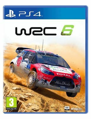 WRC 6 PS4 New and Sealed