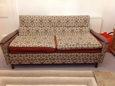 Greaves and Thomas Vintage Sofa Bed 1960's