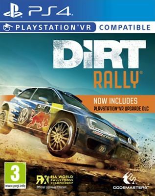 Dirt Rally VR PS4 New and Sealed