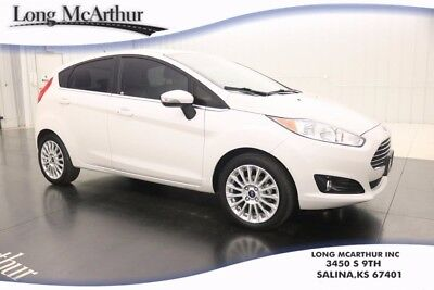 2016 Ford Fiesta TITANIUM NAV SUNROOF LEATHER AUTOMATIC HATCHBACK MSRP $22495 ONE OWNER! SUNROOF, NAV, EXTERIOR PARKING REAR CAMERA, SYNC 3, CD PLAYER