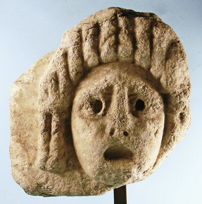 Roman Marble Tragic Actor Mask - Ancient Art & Antiquities