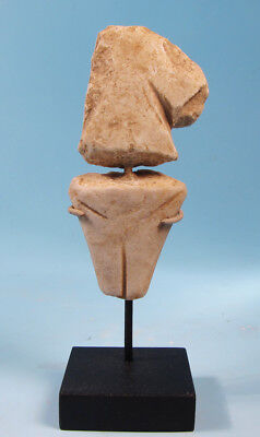 Anatolian Marble Star Gazer Idol  - Ancient Art & Antiquities