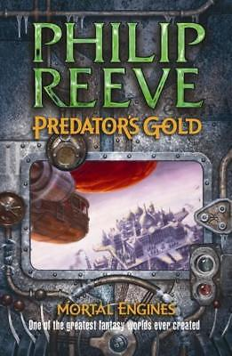 NEW Predator's Gold : Mortal Engines 2 By Philip Reeve Paperback Free Shipping