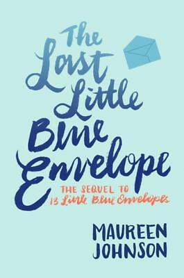 NEW The Last Little Blue Envelope By Maureen Johnson Paperback Free Shipping