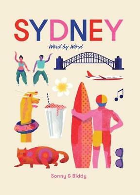 NEW Sydney Word by Word By Sonny Day Hardcover Free Shipping