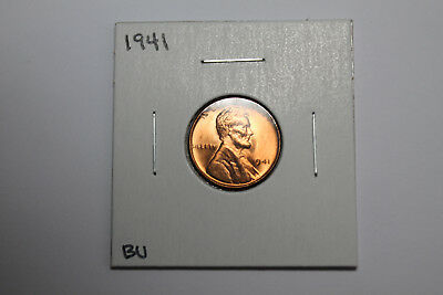 1941 BU Lincoln wheat cent