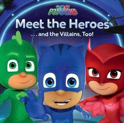NEW PJ Masks Meet the Heroes By Parragon Books Ltd Paperback Free Shipping