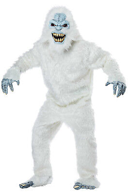 Brand New Snow Beast Abominable Snowman Adult Costume