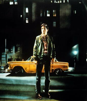 Taxi Driver Movie Poster 24x36 textless art