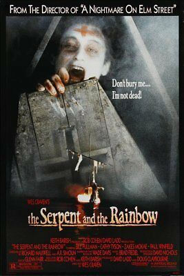 The Serpent And The Rainbow Movie Poster 24inx36in (61cm x 91cm)