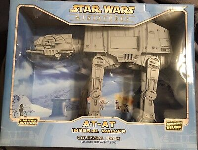 Star Wars Miniatures - Colossal Pack At-At Imperial Walker - New In Box!