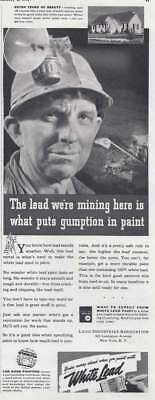 1940 Lead Industries: Gumption in Paint Vintage Print Ad