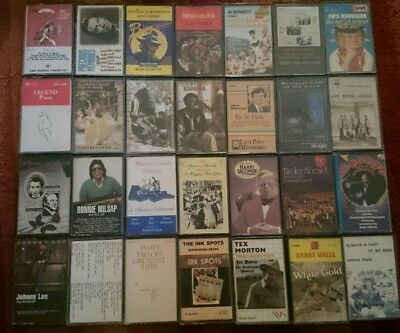 Cassette Tapes 28 Mixed Music artists and genres