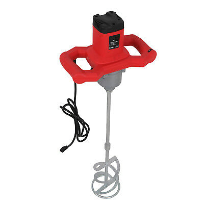 1600W Handheld Electric Cement Mixer Mortars Concretes Grouts Adjustable Speed