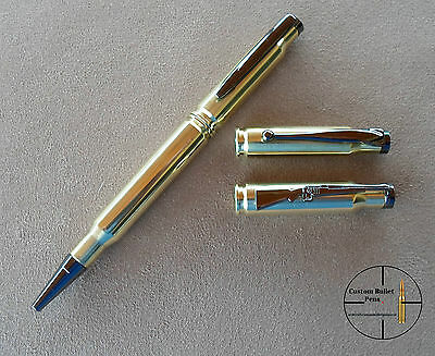 Bullet Pen - Made from rifle real brass shells
