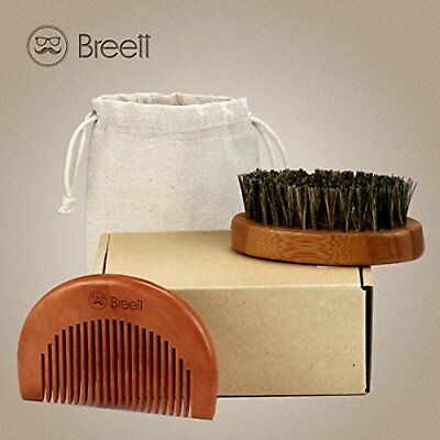 Breett Spazzola Per Barba Pettine Barba Pettine Di Precisione Kit Di Pettinatura