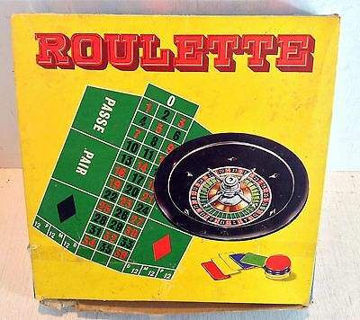 Vintage Game in Box: Roulette, Made in Hong Kong (2417)