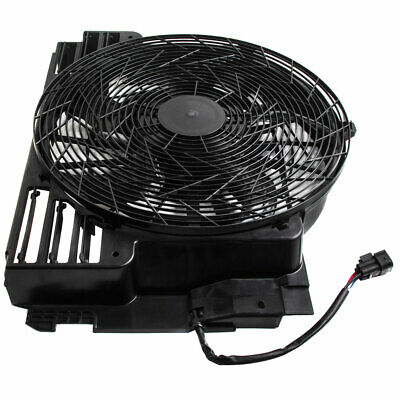 A/C AC Radiator Condenser Cooling Pusher Fan 5 Blades fits for 00-06 BMW X5 E53