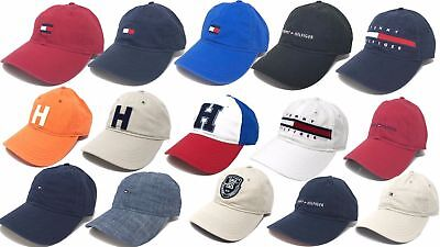 Tommy Hilfiger Cotton Baseball Cap Mens Womens Unisex Hat One Size  Adjustable 562a47ff8f
