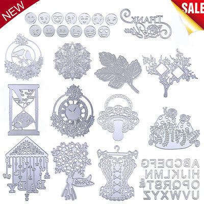 Metal Cutting Dies Stencils for Scrapbooking Embossing DIY Craft Paper Card Gift