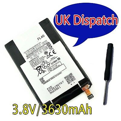 Battery FL40 SNN5963A  Motorola Moto X Play XT1560 XT1561 XT1562 XT1563 +tool UK