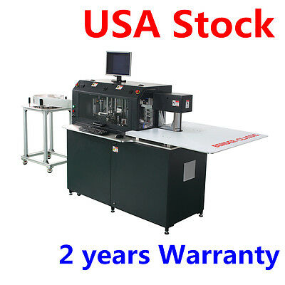 USA Stock 220V Multifunction Automatic CNC Metal Channel Letter Bending Machine