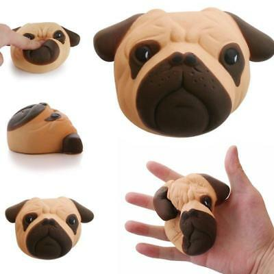Slow Rising Squishies Dog Face Kawaii Scented Squishy Squeeze Stress Soft Toy