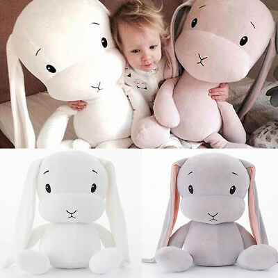 "10"" Cute Bunny Soft Plush Toys Rabbit Stuffed Animal Baby Kids Gift Animals Doll"
