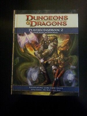 Dungeons & Dragons 4th Edition Player´s Handbook 2
