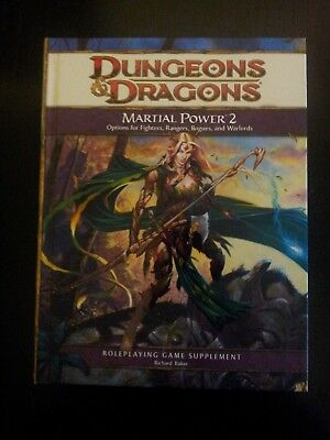 Dungeons & Dragons 4th Edition Martial Powers 2
