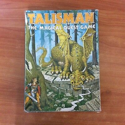 Vintage 1983 Board Game - Talisman - The Magical Quest Game - First Edition