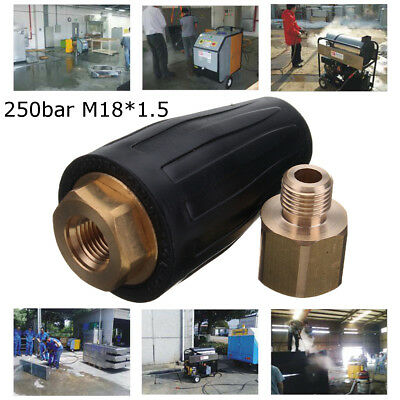 3600 PSI/250 Bar High Pressure Washer Rotating Turbo Nozzle Spray Jet Cleaner