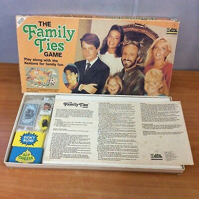 Vintage 1987 Board Game - The Family Ties Game - 100% Complete